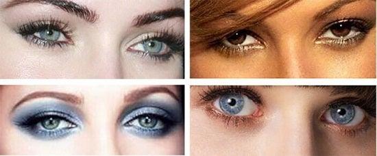 12 मेकअप ट्रिक: आँखों के आकर