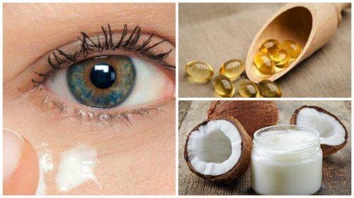आँखों की सुन्दरता निखारें प्राकृतिक नारियल तेल क्रीम से