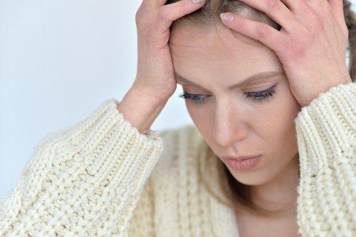 चेहरे और सिर में तनाव