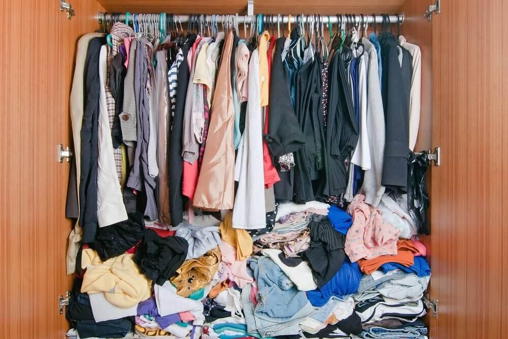 कपड़े रखने के लिए आईडिया