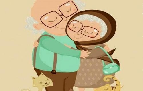 सच्चा प्यार उम्र, झुर्रियों और समय से परे होता है