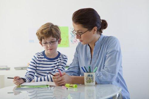 पढ़ाई-लिखाई की समस्याओं वाले बच्चे