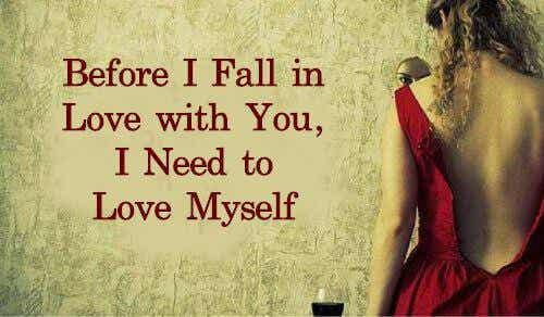 किसी से प्रेम करने से पहले ख़ुद से प्यार करना सीखना होगा