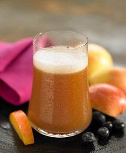 सूजन घटाने वाले जूस: सेब और अलसी के बीज