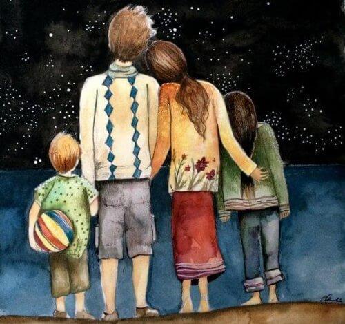 4-तारे देखते हुये