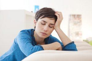 ओवेरियन सिस्ट के लक्षण: थकावट