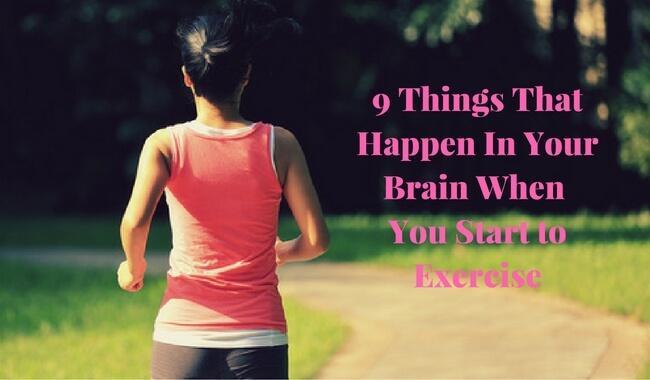 9 बातें जो आपकी ब्रेन में होती हैं, जब आप एक्सरसाइज करते हैं
