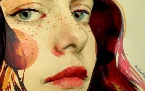 औरत का चित्र