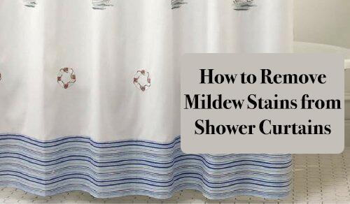 ये प्राकृतिक तरीके अपनाकर हटाएं बाथरूम के परदों से फफूंदी के दाग़-धब्बे