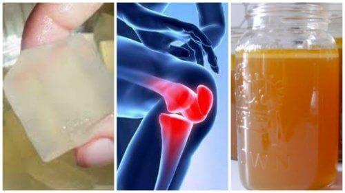 जोड़ों का दर्द कम करने के लिए 3 जिलेटिन उपचार