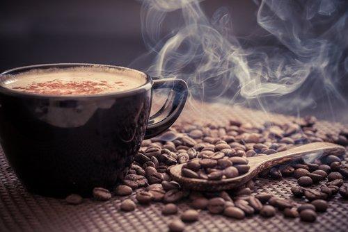 गर्म कॉफ़ी