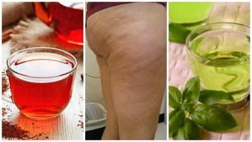 6 हर्बल ड्रिंक: सेल्युलाईट के निशान से दिलाएंगे राहत