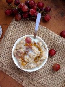 डिनर में ओटमील (oatmeal)