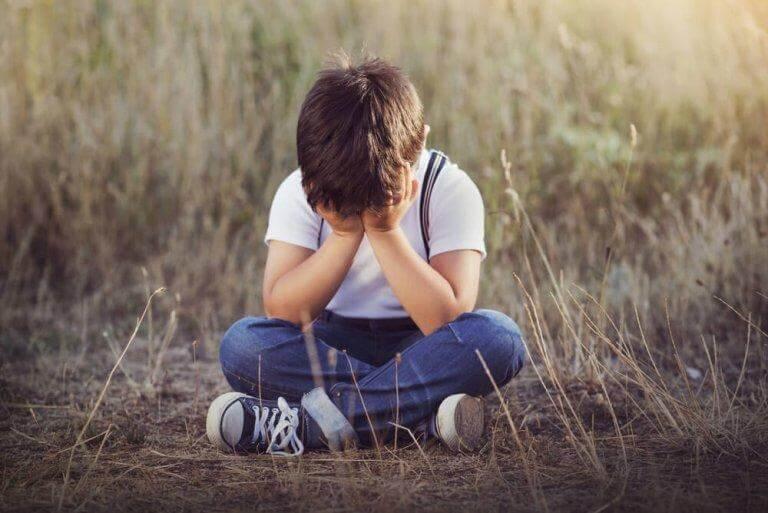 रोता हुआ बच्चा