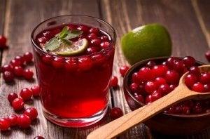 वेजाइनल यीस्ट इन्फेक्शन : क्रैनबेरी (Cranberries)