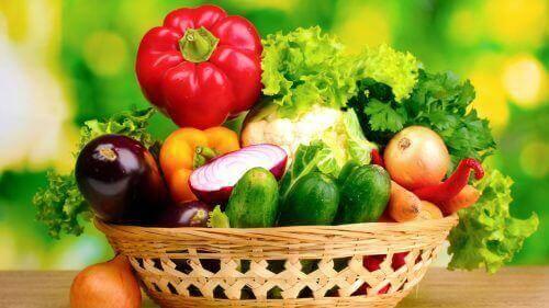 पेट का मोटापा : ताजी सब्ज़ियाँ