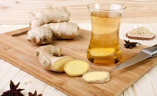 त्वचा के स्वास्थ्य के लिये अदरक की चाय