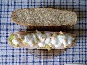 टर्की सैंडविच