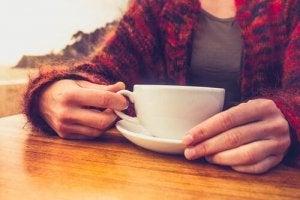 कैफीन प्रत्याहार : कॉफ़ी