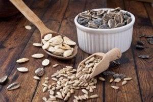 जिंक की खुराक : अन्न और बीज (Grains, Seeds)
