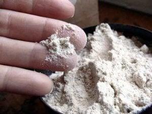 पिस्सू के लिए डायटोमेसियस मिट्टी ट्रीटमेंट