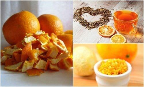 संतरे के छिलके के 5 वैकल्पिक इस्तेमाल