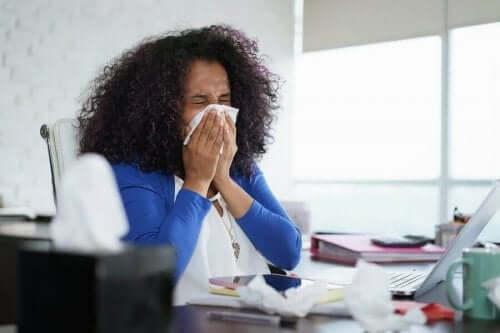 एलर्जी कैसे विकसित हुई है