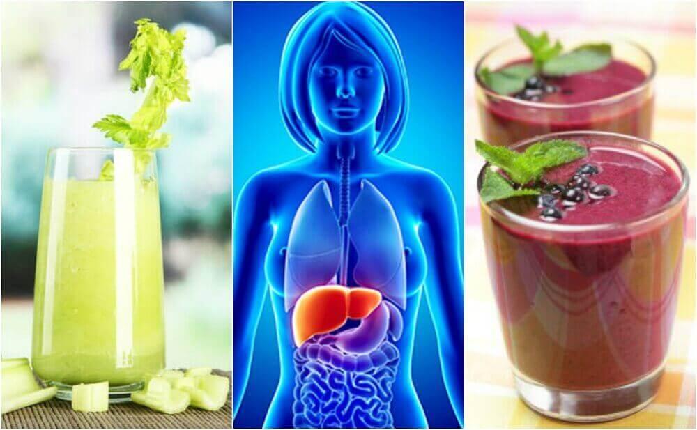 इन 4 फलों और सब्जियों की स्मूदी से अपने लीवर की सफ़ाई करें
